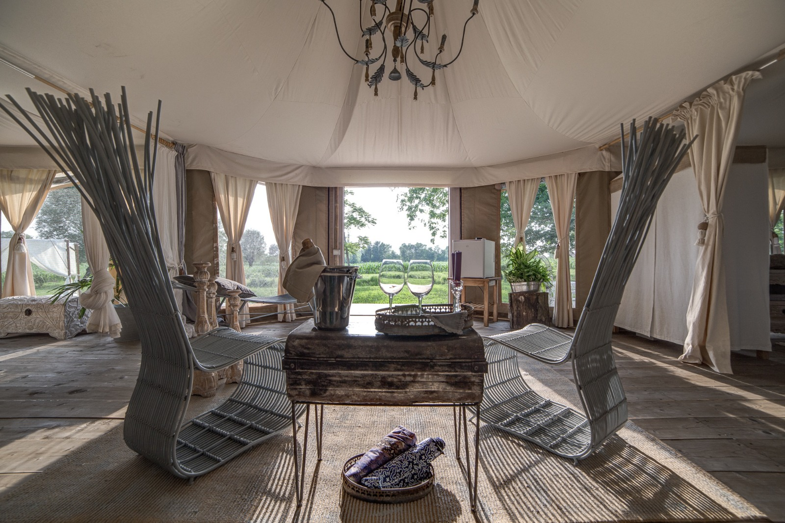 Dedicated to innovation and Luxury Canvas Safari Tents
