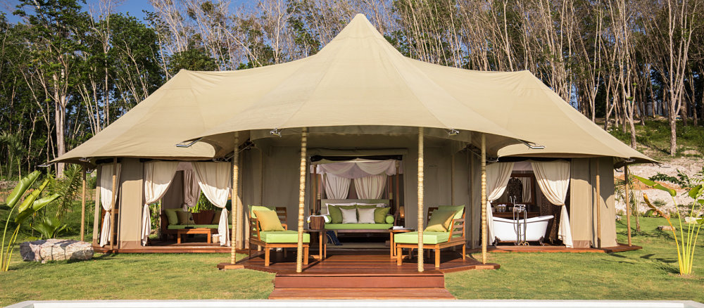 Global Luxury Safari tent designed and built