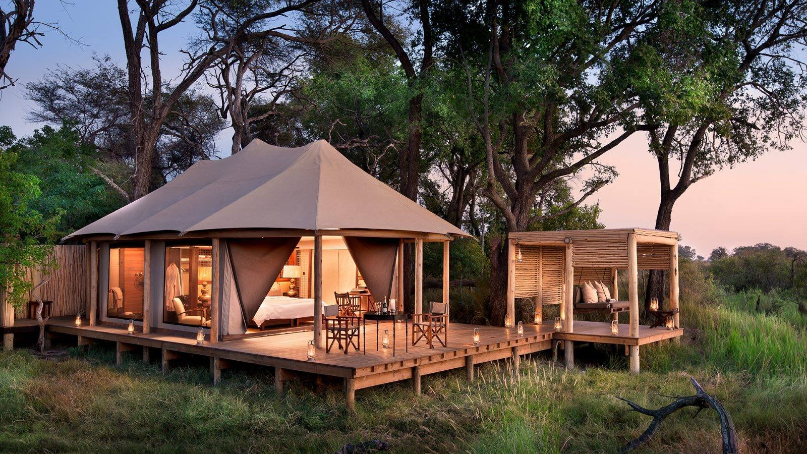 Handcrafted Luxury Safari tents - Luxury Tent Manufacturer and delivery worlwide