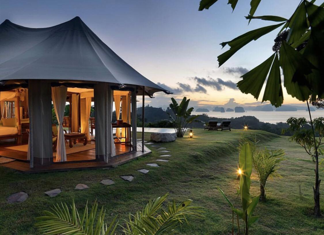 A luxury safari Tent lets nature in. Build your canvas tent almost anywhere in the world