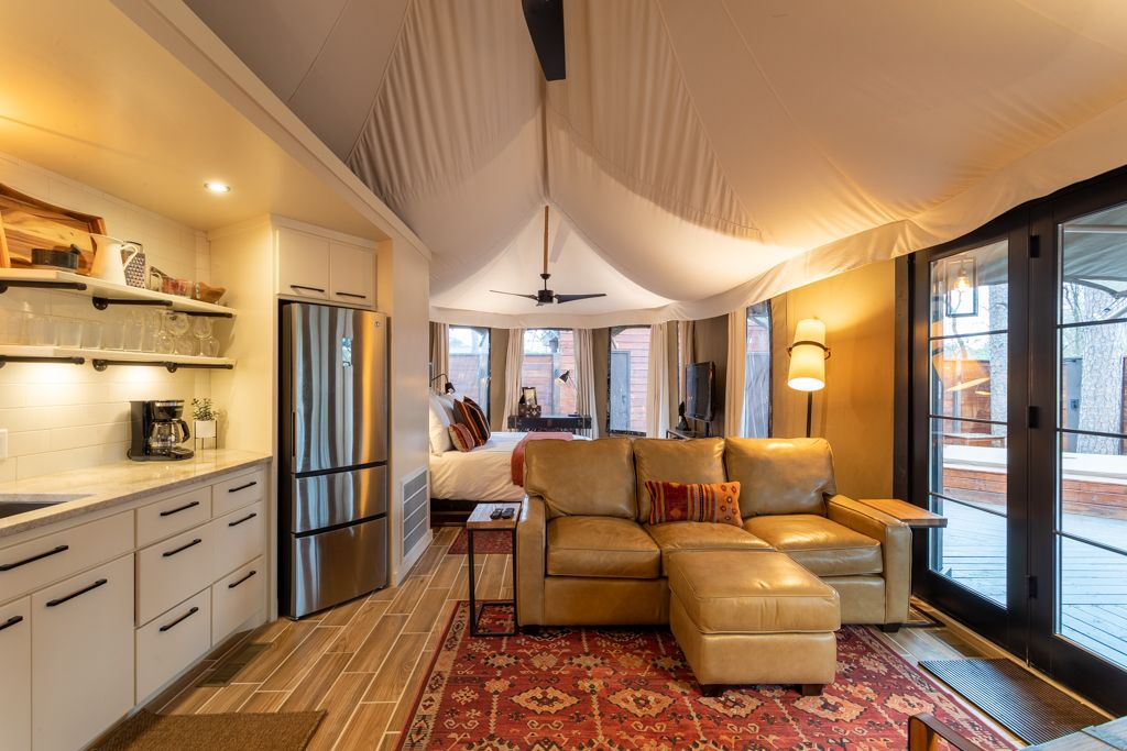 A Long Term Tent or tent house is built strong in Clearwater Florida